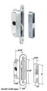 wgsonline sliding wood or glass patio door mortise lock