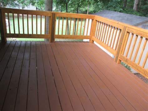 refinishing  wood deck thriftyfun
