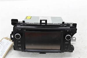 2013 Mk3 Xp130 Toyota Yaris Oem Radio  Cd  Stereo Head Unit