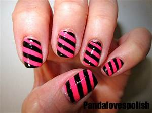 easy nail art designs step by step cute nail polish ...