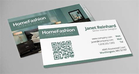 interior design business card templates ai ms word