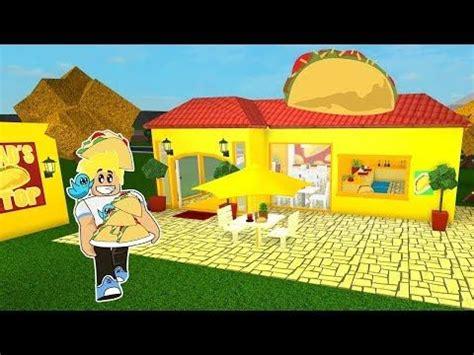 chads taco stop restaurant  roblox bloxburg building