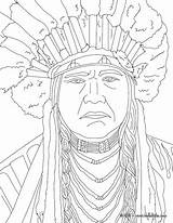 Coloring Native Pages Sundial American Template Powhatan Adults Adult Pottery Hellokids Pocahontas sketch template