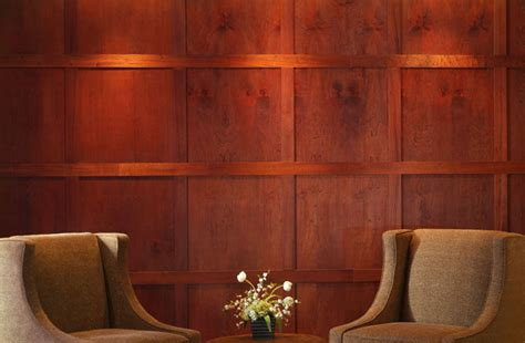 How To Hang Wainscoting Panels by Wood Paneling Designer Paneling American Pacific Mahogany