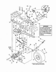 Mtd Model 13ac762f755 Lawn  Tractor Genuine Parts