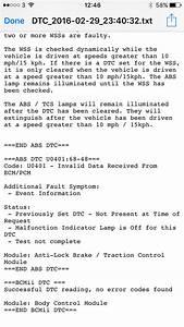 Esp    Abs Problem - Drivetrain  Mk4 Mondeo