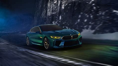 renault geneva 2018 bmw m8 gran coupe concept wallpapers hd images