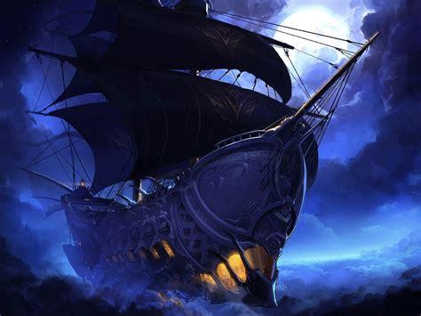 fantasy, Ship, Boat, Art, Artwork, Ocean, Sea Wallpapers ...