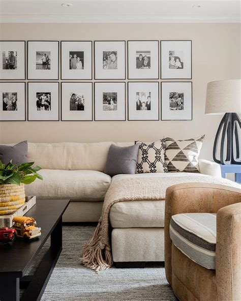 Living Room Decor Photo Gallery by Sectional With Black Coffee Table Transitional