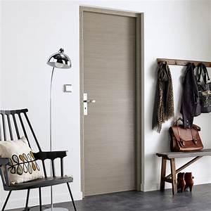 Porte Sans Bati Leroy Merlin : porte sans b ti m dium mdf rev tu gris londres x ~ Dailycaller-alerts.com Idées de Décoration