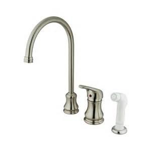 elements of design es818sn daytona single handle kitchen