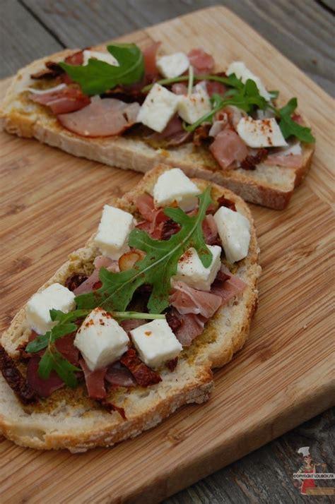 bruschetta tartine italienne recette facile