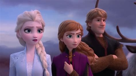 frozen    watched animated trailer   time