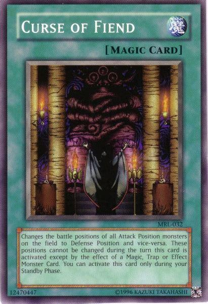 card fiend curse yugioh yu gi oh mrl errata wikia trap magic monster
