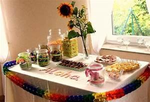 Deko Ideen Kindergeburtstag : hawaii kindergeburtstag dekoration und buffet land und ~ Whattoseeinmadrid.com Haus und Dekorationen