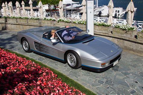 Ferrari Testarossa Spider - Chassis: 62897 - Entrant ...