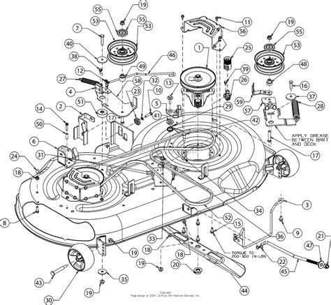 28 deck belt diagram for troy troy bilt 17andald066