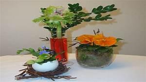 Basteln Mit Moos : osterdekoration ostergestecke mit moos und fr hlingsblumen dekorieren youtube ~ Watch28wear.com Haus und Dekorationen