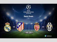 20162017 Champions League semifinal draw SofaScore News