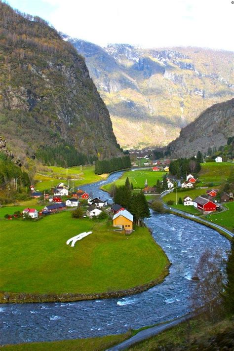 Flam Is A Small Tourist Village In Aurland Norway Which