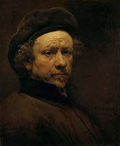 Rembrandt, Self-Portrait, ca. 1659 oil on canvas, 52.7 x ...
