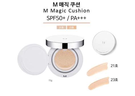 Harga Missha Cushion review missha m magic cushion spf50 pa no 21