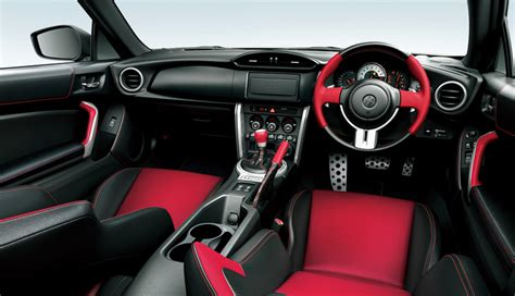 toyota gt  updated  suspension interior tweaks
