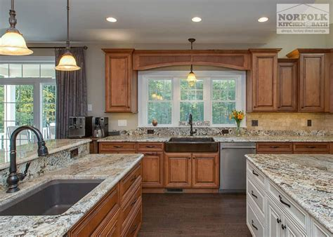 Traditional Showplace Kitchen With Granite   Norfolk