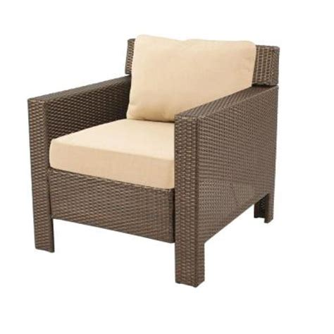 hton bay beverly patio deep seating lounge chair with