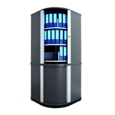 armoire de bureau m騁allique armoire rotative d angle 216 80 cm h s