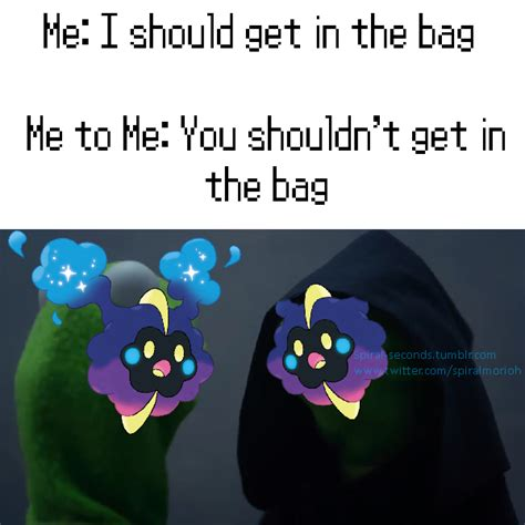 Nebby Memes - nebby and evil nebby get in the bag nebby know your meme