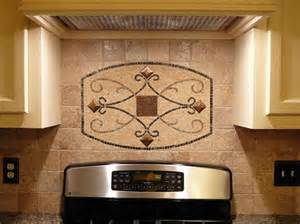 backsplash medallions kitchen kitchen backsplash design ideas