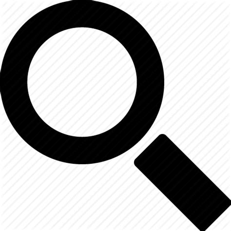 Search Black by Find Glass Magnifying Search Zoom Icon