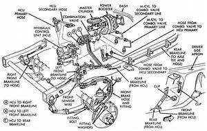 1987 Toyota Pickup Brake Line Diagram