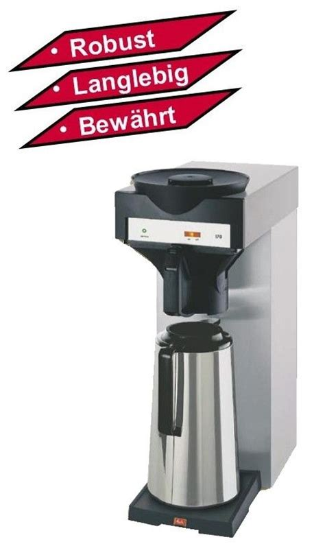 melitta m 170 mt melitta m 170 mt gastro filter kaffeemaschine m170mt 4021172203477 on popscreen