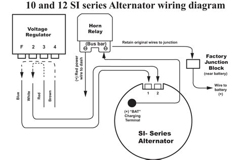 delco remy  wire alternator wiring diagram electrical