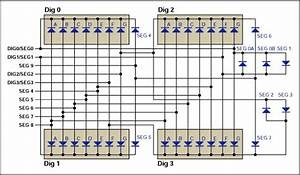 Wiring The Max6958  59 To 4-digit Clock Displays - Application Note