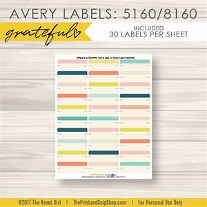 labelsgtgtgratefulgtgtavery label 5160 8160 theresetgirl With avery label maker 5160