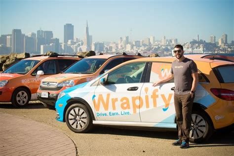 Rideshare In/out-car Advertising Startups--wrapify, Vugo