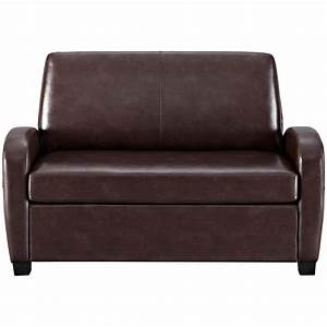 convertible sofa leather couch twin bed mattress sleeper With loveseat sofa bed mattress