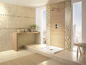 image salle de bain l39ambiance naturelle sinvite dans la With salle de bain carrelage bois