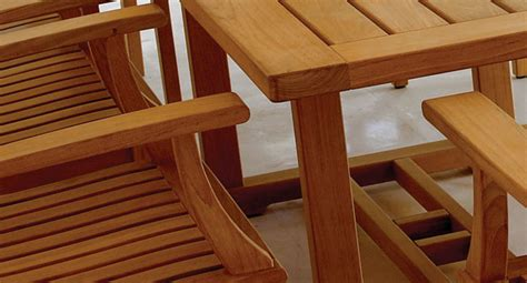 teak patios furniture