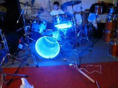 drum set lights lighted drums led light up drum set drum lights acrylic