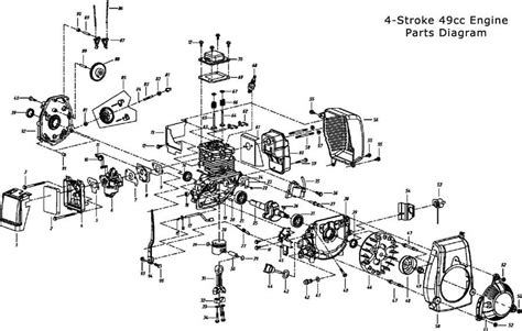 cc engine parts bicycle engines pertaining   cycle