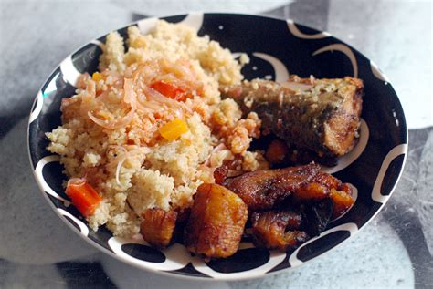 recette de cuisine ivoirienne attiéké altahine
