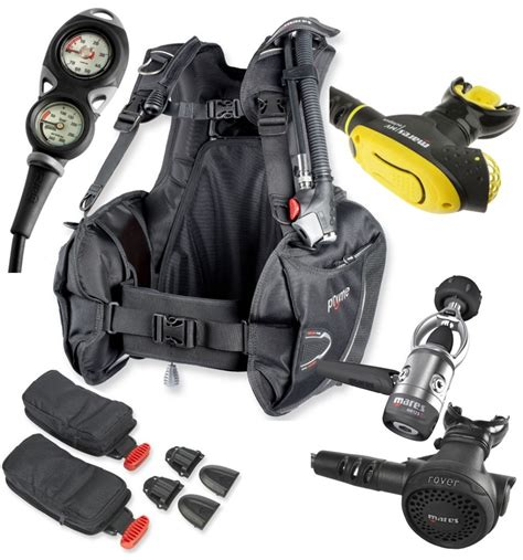 Scuba Dive Gear - dive rite transpac xt harness kirk scuba gear secure
