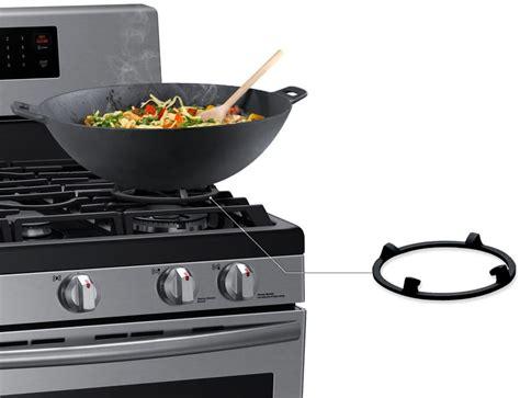 wok grate samsung gas griddle burner range inch oven burners power ajmadison