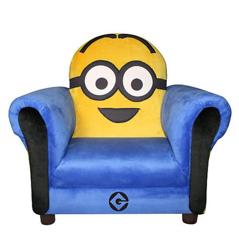 despicable me minion icon chair room ideas