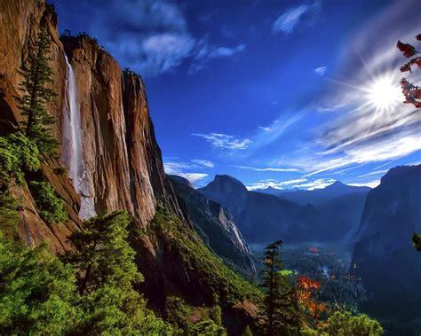 Wallpaper For Desktop Background by Yosemite National Park Desktop Background 596043