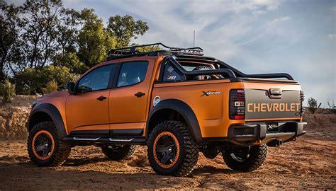 chevy concept truck chevrolet colorado xtreme concept is a tease